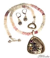 gemstone beaded necklace images Necklace sets swcreations jpeg