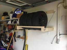 Garage Tool Organizer Rack - tire storage rack diy evolutionm net cleverness pinterest