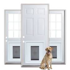 Where To Buy Exterior Doors No Cutting Into Your House For The Doggie Door This Larson