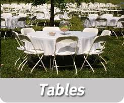 tables for rent tents tables