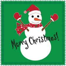 free snowman clip art image christmas card with snowman and