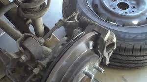 2009 dodge journey replace rear disc brake rotor and pads youtube