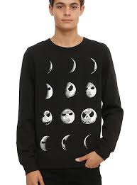 the nightmare before moon crew pullover topic