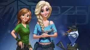 download wallpaper 3840x2160 frozen anna elsa snow queen olaf