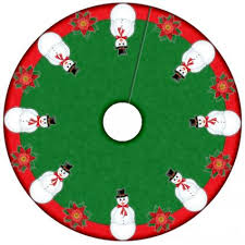 christmas skirt sew christmas tree skirt