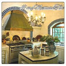 mexican tiles kitchen bath u0026 stairs