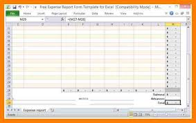 Expense Report Excel Template 9 Expense Report Excel Xavierax