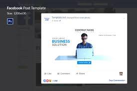 10 facebook ad templates business discount sale motivation