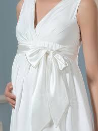 Wedding Dresses Maternity V Neck A Line Knee Length Maternity Wedding Dress Tbdress Com
