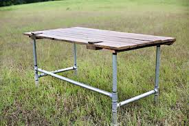 Steel Pipe Desk Cademon Collection Desk Simply Janelle Designs