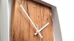 reclaimed french oak wall clock u2013 crowdyhouse