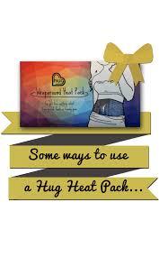 Body Comfort Heat Packs Hug Wraparound Heat Packs