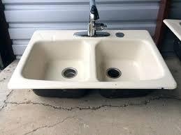 cast iron drop in sink cast iron kitchen sinks stagebull com
