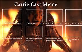 Carrie Meme - carrie cast meme by detective88 on deviantart