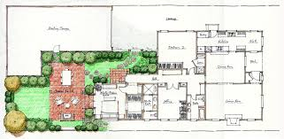 Colonial Style Home Plans 100 House Plans Courtyard Alexandria Cottage House