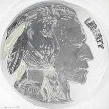 andy warhol indian head nickel artwork on the marketplace