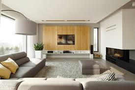 Modern Home Interior Decorating Poland Modern Home Interior Black White Light Wood Color Scheme 9