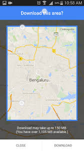 Offline Google Maps How To Use Google Maps Offline In Android Techcybo
