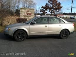 2003 audi a4 1 8 t sedan 2003 audi a4 1 8t quattro sedan in light silver metallic photo 5