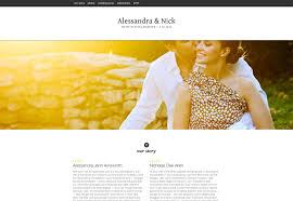 free wedding website 25 wonderful wedding websites webdesigner depot