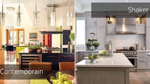 style de cuisine deux styles huit cuisines chez soi