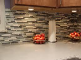 kitchen blue tile floor u0026 glass backsplash ray tiling
