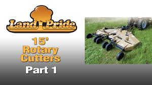 land pride rotary cutters part 1 of 2 youtube