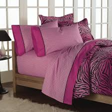 loft style wild one pink bed in a bag bedding set pink bedding