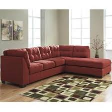 Red Sectional Sofas Red Microfiber Sectional Sofa With Chaise Centerfieldbar Com