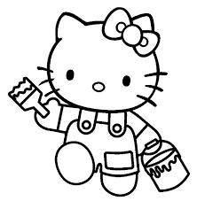 hello kitty 240 dessins animés u2013 coloriages à imprimer