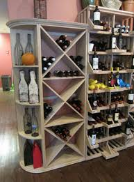 eye catching commercial wine cellar design for a retail store in texas
