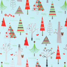 cheap christmas wrapping paper owls in tree roll wrap