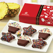 fruit bouquets delivered edible arrangements new confetti cupcake pineapple box