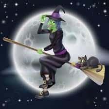 halloween witch backgrounds wallpaperpulse