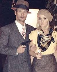 Halloween Costumes Bonnie Clyde 32 Costume U0026 Ideas Images Stockings
