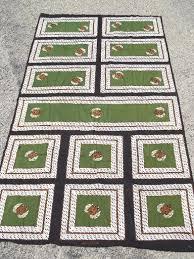 vintage tribal ethnic print cotton fabric w black border karya