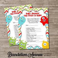 monster baby shower invitations u2013 gangcraft net