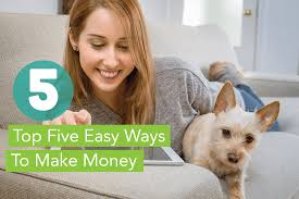 easy ways to make money at home for little to no work