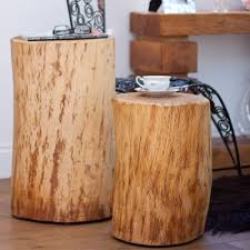 Oak Side Table Pillars Of Oak Side Table