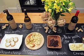 how to host a wine and cheese tablespoon