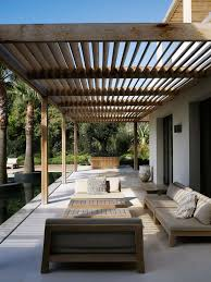 Ideas For Backyard Patios by Best 10 Contemporary Patio Ideas On Pinterest Modern Pergola
