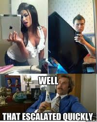 Ipad Meme - you have an ipad we have a tv by sadpandadrake meme center
