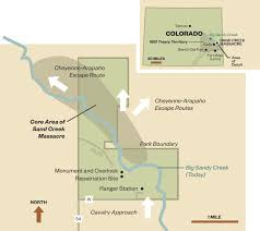 4 Corner States Map by The Horrific Sand Creek Massacre Will Be Forgotten No More