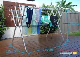 Clothes Line Dryer Indoor Large Clothes Horse Dryer Huge Capacity Flexi Portable