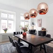 Esszimmer St Le Von Calligaris Modern Diy Rose Gold Ceiling Light Glass Ball Pendant Light Lamp