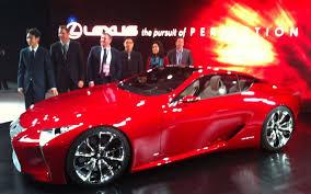 lexus denies rumor of new 2012 detroit lexus lf lc concept