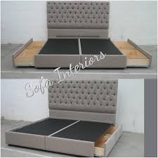 Rustic Bed Headboards by Best 25 Bed Frame With Headboard Ideas On Pinterest