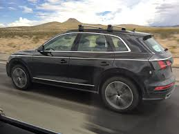 Audi Q5 8 Speed Transmission - spied 2017 audi q5 caught testing without camouflage
