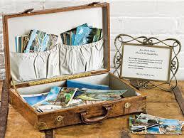 vintage wedding guest book diy vintage luggage guest book bridalguide