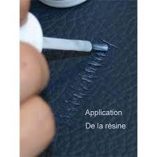 réparation cuir canapé résine pour réparer les griffures sur cuir